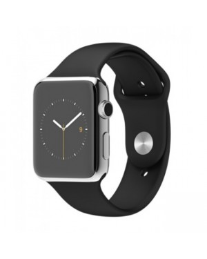 Apple Watch MJ3U2 42mm Stainless Steel Case with Black Sport Band